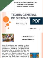 Unidad 1  Sistema y Organizaciones