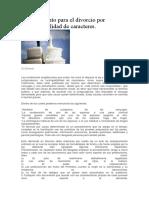 Procedimiento para el divorcio por incompatibilidad de caracteres.docx