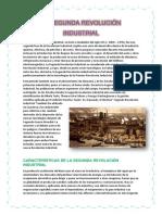 La Segunda Revolución Industrial