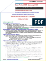 Current Affairs Pocket PDF - January 2019 14-30