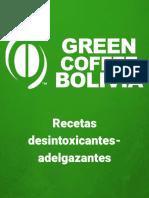 Recetas Desintoxicantes Adelgazantes GreenCoffee