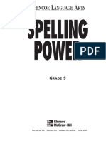 Spelling Power Workbook, Grade 9 - Glencoe ( PDFDrive.com ).pdf