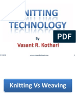 Knitting vs Weaving