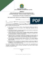 ANEXO 4 - Declaração de Ciência e autorização de uso de imagem (1).doc