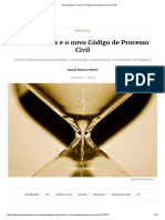 As Astreintes e o Novo Código de Processo Civil _ JOTA