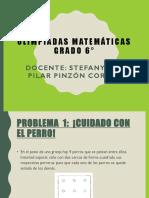 Olimpiadas Matematicas Grado 6