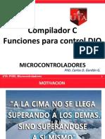 Compilador C_ Control DIO
