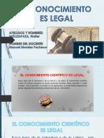 Conocimiento Legal