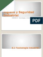 UNIDAD 5.  TOXICOLOGIA Y CONTROL DEL AMBIENTE.pptx