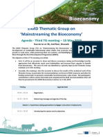 Tg3 Bioeconomy Agenda