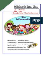 0003 Temario  - 2019