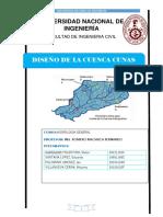 parametros geomorfolgicos de cuenca