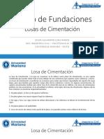 08_Losas de Cimentacion - Diseno de Fundaciones