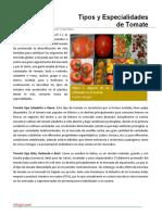 13. Tipos y Especialidades de Tomate.pdf