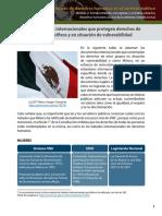 Tratados Internacionales que protegen derechos de grupos específicos y en situación de vulnerabilidad