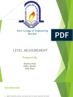 Level Measurement devices