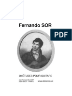 Fernando Sor - 20 Etudes