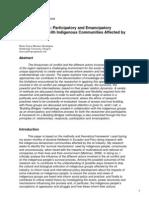 Emancipatory Methodologies with Indigenous People