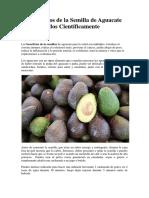 13 Beneficios de la Semilla de Aguacate Comprobados Científicamente.docx
