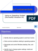 3 Computing Fundamentals - Operating System