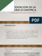 Periodización de La Historia Económica Parte 1