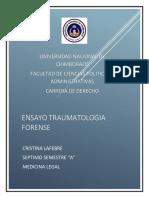 ENSAYO TRAUMATOLOGIA FORENSE.docx