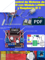 Control de Motores de CD Con Modulo L298N