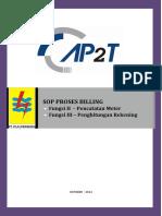 SOP Proses Billing AP2T Dengan Pengawasan Berjenjang