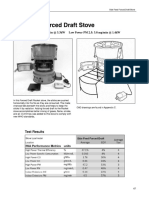 Side Feed Forced Draft Stove