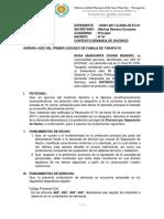 DEMANDA DIVORCIO - MARGARITA - UNSM.docx