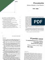 Katz y Mair_El partido cartel_La transformaci+¦n de los modelos de partidos.pdf
