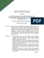 Peraturan Kehutanan P. 56/Menhut-II/2008
