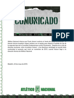 Boletín #44 Atlético Nacional (1)