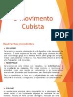 Slides - AULA 05 - O Mov. Cubista