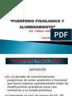 Puerperio y Alumbramiento Clase Ucc 2018-1