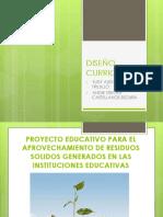 Diseño Curricular Edu Ambiental