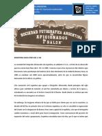 Sociedad Argentina de Fotógrafos