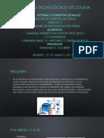 Ejemplo presentacion de proyecto