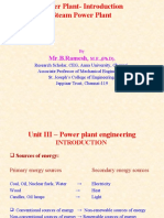 Power plant, Steam Power Plant