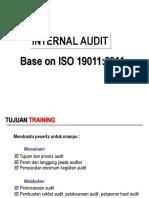 Internal Audit Training