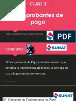CLASE 3 Comprobantes de Pago..pptx