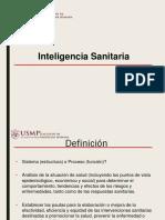 inteligencia sanitaria