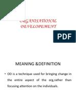6 Org Development