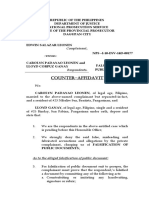 Counter-Affidavit Leonen Ganay (Falsification)
