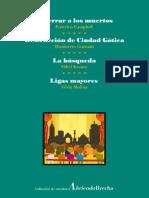 Enterrar a los muertos; Destrucción de Ciudad Gótica; La búsqueda; Ligas mayores (vol. 4)