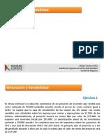 CLASE 1. Simulación y Sensibilidad (1)