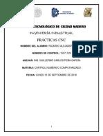 programas de maquinado CNC