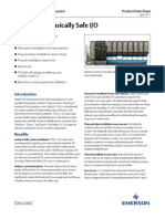 Product Data Sheet m Series Intrinsically Safe i o Deltav en 56244
