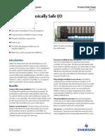 Product Data Sheet m Series Intrinsically Safe i o Deltav en 56244