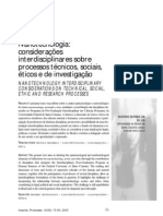 Nanotecnologia_considerações interdisciplinares
